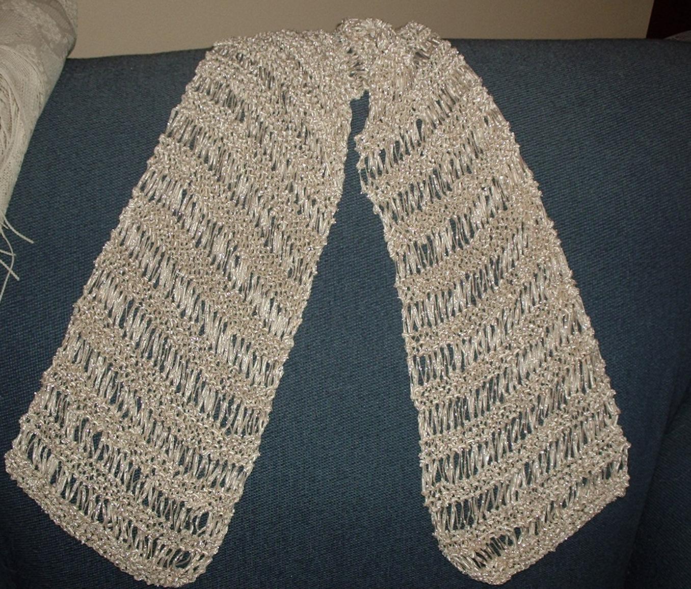The Glisten Scarf - Scarf Knitting