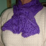 A Winter Slit Scarf Pattern
