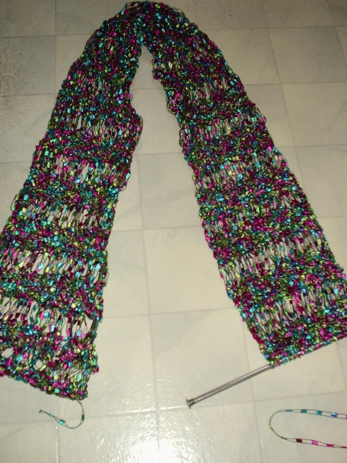 April Raindrops Scarf - Scarf Knitting