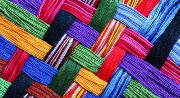 yarn mosaic