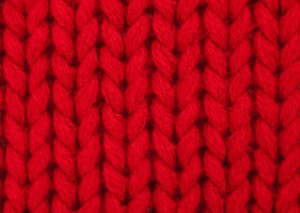 picture of the knit stitch