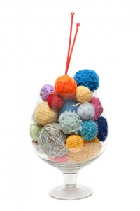 Bowl of yarn