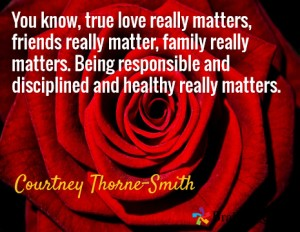 Quote by  Courteny Thorne-Smith