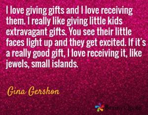Gina Gershon quote