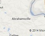 Map of Abrahamsville PA