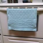 knitted oven hanger
