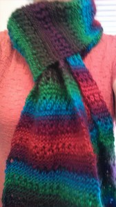 Apple Orchard scarf