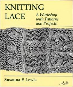 Knitting Lace book by Susanna Lewis