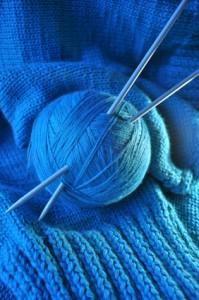 Bluesy yarn
