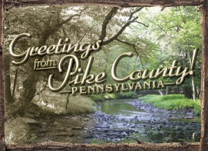 Postcard from Pike County PA
