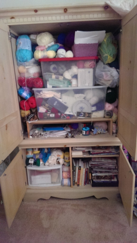 August Knitting Reorganization