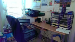My office makeover