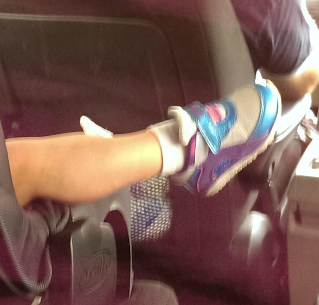Marisa's foot