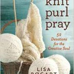 Knit Purl Pray book