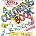 Knitting Coloring Book Review